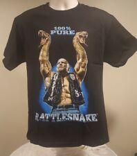 Stone Cold Steve Austin 100% Pure Rattlesnake Wwe Authentic Mens T-Shirt