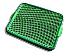 Pets Indoor Dog Potty Puppies Small Dogs Cats Puppy Pad Holder Tray GREEN - NEW