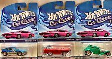 Hot Wheels Cool Classics Lot ['85 HONDA CR-X] [AMPHICAR] [STRAIGHT PIPES] NIP