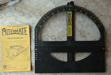 Mitermate Circular Saw Guide and Measuring Tool Carpentry Woodworking with Book