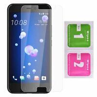 """Lot film en verre trempé vitre pour HTC U11 (5,5"""") U 11"""