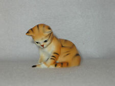 """Tail End"" Danbury Mint Cats Of Character Bone China Figurine - Mint"