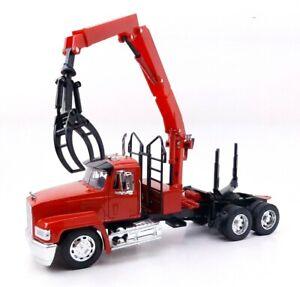 Newray Mack CH Log Logging Truck Tractor Trailer Semi 1:32 Long Haul Trucker
