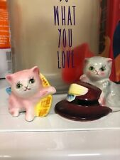 Vintage Py Kitty Cat Salt And Pepper