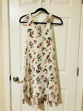 Club Monaco Floral Print Silk Dress - 00