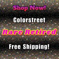 🎉NEW 💯 COLOR STREET Nail Polish Strips RARE RETIRED Free Shipping