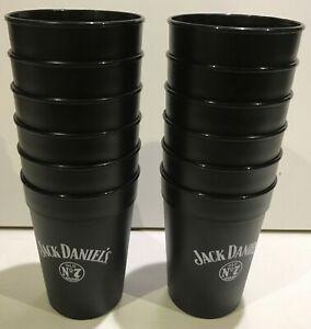 12 x Jack Daniels Whiskey Cup Mehrweg Festival Becher sehr stabil - wie neu!!