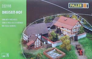 FALLER 232198 N Dreiseit-Hof OVP + NEU