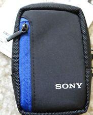 New Sony Soft Carrying Case for Cyber-shot Digital Camera Black LCSCS2/B