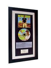 MANU CHAO La Radiolina CLASSIC CD GALLERY QUALITY FRAMED+EXPRESS GLOBAL SHIP