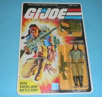 *RECARDED* 1984 GI Joe Spirit v1 Figure Complete Sealed *CUSTOM File Card Back*