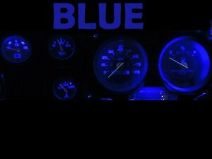 Gauge Cluster LED Dashboard Bulbs Blue For Chevy 73 87 C10 C20 C30 Truck