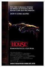 HOUSE Movie POSTER 11x17 William Katt George Wendt Richard Moll Kay Lenz Michael