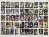 2010-2020 Atlanta Braves 50-card Team Lot (Bowman/Topps, no duplicates)