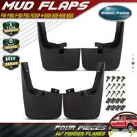 New Rock Splash Guards Mud Flaps with WHEEL LIPS for Ford F-150 2015 - 2019 2020