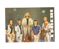 Gruppe Berluc  DDR Band  Musik Autogramm-Karte signiert ,Postkartenformat !