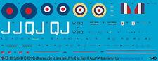 Peddinghaus 2958 1/48 Spitfire Mk VB W 3312/qj-j Moonraker of Sqn LDR. James ran