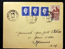 SALON DE LA MACHINE AGRICOLE 1949 OBLITERATION FRANCE  ENVELOPPE     VB99