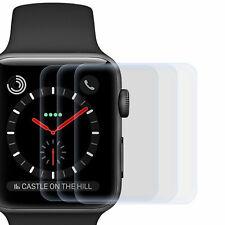 3x Display Schutz Folie für Apple Watch 38mm - Displayfolie Schutz Hülle Cover