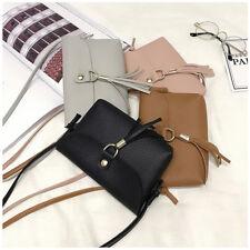 Women Ladies Small Bag Mini Messenger Tassel Shoulder Bags Vintage Handbag Tote