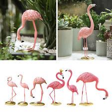 Nordische Stil Rosa Flamingo Figur Party Ornamente Statue Wohn accessoires