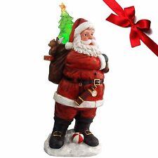 Weihnachtsmann Giant 88cm! Dekofigur Weihnachtsdekoration Nikolausfiguren