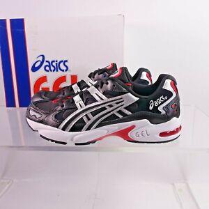 Size 8 Men's / Women's 9.5 ASICS GEL-Kayano 5 OG Sneakers 1021A163-001 Black