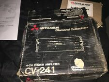 Mitsubishi 4 ch power amplifier CV-241 car