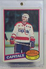 Mike Gartner rc 1980-81 O'Pee-Chee #195