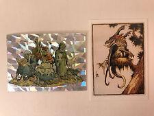 WILLIAM STOUT SERIES 3 (Comic Images/1996) BONUS PRISM MAGNACHROME Card & PROMO