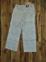 "Women's New Directions ""Desert Tiger"" Belted Waist Pants-Size:  10 NWT"