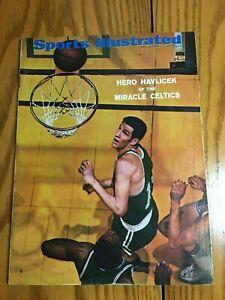 FM4-86 Sports Illustrated Magazine 5-12-1969 JOHN HAVLICEK CELTICS