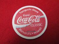 1993 Enjoy Coca-Cola Classic- Taniguchi Store Hawaii promo milk cap pog Stanpac