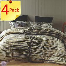 Safari Black Duvet   Doona   Quilt Cover Set + 1 x Zebra Cushion by Bianca