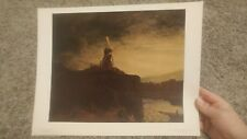 ** VINTAGE ART PRINT - Rembrandt The Mill - National Gallery of Art #658 **
