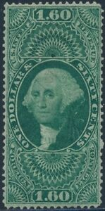 #R79c PERF $1.60 FOREIGN EXCHANGE USED XF-SUPERB CV $200 BS6310
