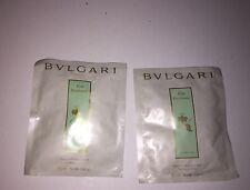 BVLGARI (2)  TEA BAGS FOR BATH  Eu Parfumee .50 Oz. Each free SHIP