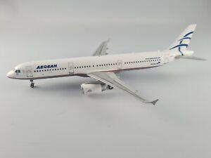Gemini JC Inflight 200 Aegean Airbus A321 SX-DGS 1:200