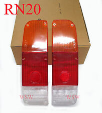 Fits 1974-1978 Toyota Hilux Rn20 Rn25 12R Mk2 Pickup Tail Lamp Light Lens Pair
