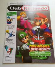 Club Nintendo Magazin, Heft 4/2001 inkl. Poster, neuwertiger Zustand, Mario Kart