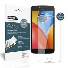 2x Lenovo Moto E4 Plus Screen Protector Flexible Glass 9H dipos