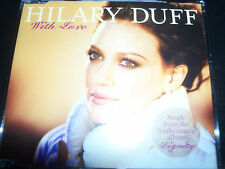 Hilary Duff  With Love / Played With Fire Australian 3 Track CD Single