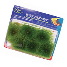 Penn Plax Fish Breeding Grass – Baby Hideout, Safe Hiding for Fry &#x2013