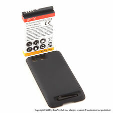 3500mAh Extended Battery for Motorola Defy MB525 Black Cover