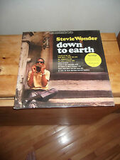 "STEVIE WONDER ""Down To Earth"" LP LILITH RUSSIA 2006 - SEALED"