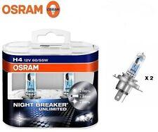 coppia LAMPADE OSRAM H4 12V 60/55W NIGHT BREAKER UNLIMITED - +110% + 35M + 20%
