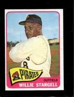 1965 TOPPS #377 WILLIE STARGELL EXMT PIRATES HOF *SBA3543