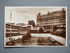 R&L Postcard: Motor Boat Pool Southend-on-Sea, Grand Pier Hotel, Valentine's