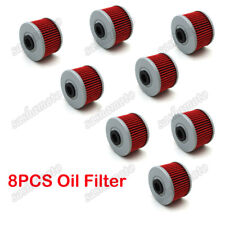 8x Oil Filter For Kawasaki KSR110 KLX300R KLX250 KLX110 KL250 BN125 KLX250R 140L