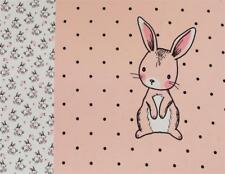 (EUR 19,00/m) Jersey Panel Hase Bunny Love Rosa Weiß 0,55m x1,50m (Art 1630)